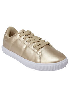 The Hadlee Sneaker by Comfortview®, GOLD