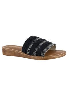 Abi-Italy Sandals by Bella Vita®, BLACK, hi-res