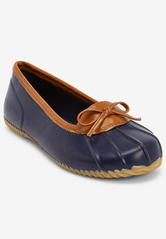 The Eliana Rain Flat By Comfortview®, NAVY