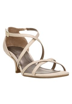 Flaunt Sandals by LifeStride®, SOFT GOLD, hi-res