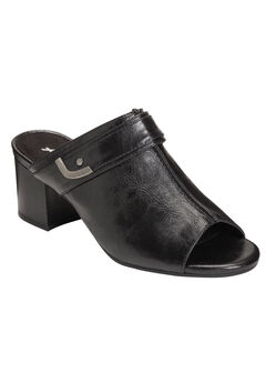 Mid West Mules by A2 Aerosoles®, BLACK