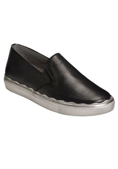 Millionaire Slip-Ons by Aerosoles®, BLACK LEATHER, hi-res