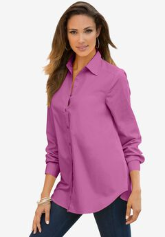 Long-Sleeve Kate Shirt, PRETTY ORCHID