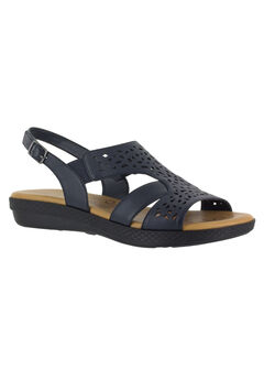 Bolt Sandals by Easy Street®, NAVY