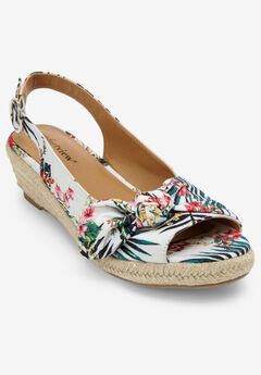 The Zanea Espadrille by Comfortview®, TROPICAL FLORAL