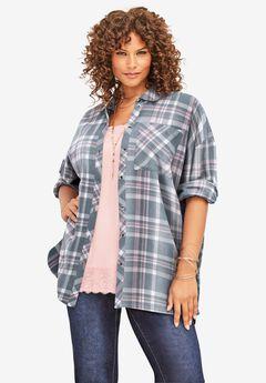 Flannel Tunic,