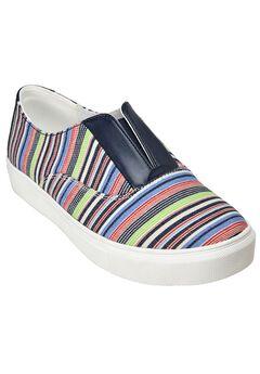 Maisy Sneaker by Comfortview®, MULTI STRIPE