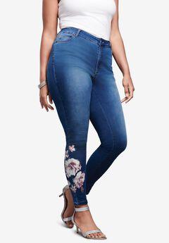Printed Jean ,