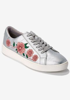 Sailor Sneakers by Comfortview®, SILVER