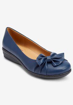 The Pamela Slip-On Flats by Comfortview®,