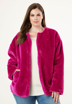 Faux-Fur Jacket,