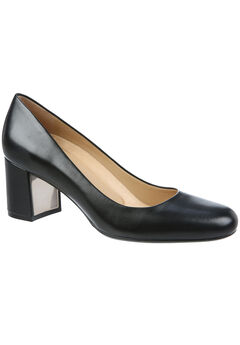 Whitney Pumps by Naturalizer®, BLACK LEATHER, hi-res