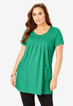 Two-Pocket Swing Tunic,