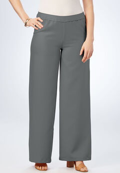 Bend Over® Wide Leg Pant, SLATE