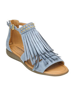 The Carmella Sandal by Comfortview®, CHAMBRAY