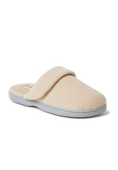 Eleanor Waffle Knit Scuff Slippers,