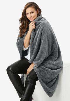 Faux Fur Throw,