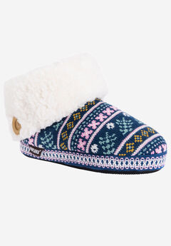 Melinda Bootie Slipper by Muk Luks,