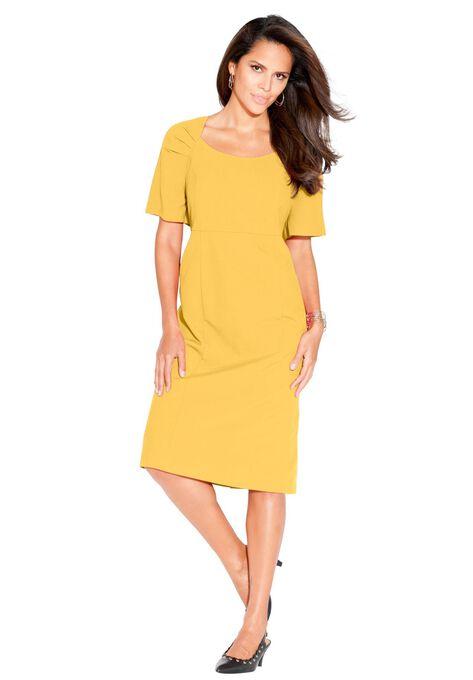 Sheath Dress Plus Size Dresses Roamans