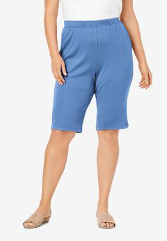 Soft Knit Bermuda Short, HORIZON BLUE