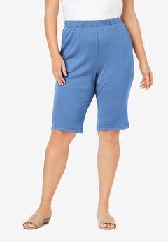 Soft Knit Bermuda Short, HORIZON BLUE