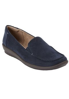 Adrianne Flat by Easy Spirit®, NAVY
