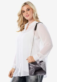 Velvet Crossbody Bag,
