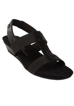 Idolize Sandals by Anne Klein®, BLACK, hi-res