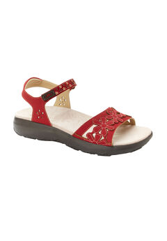 Wildflower Sandal by JBU®, RED, hi-res