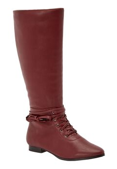 The Audrina Wide Calf Boot by Comfortview®,