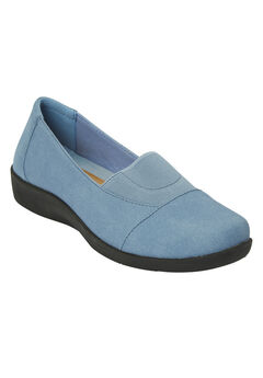 Starr Flat by Comfortview®, DENIM CHAMBRAY, hi-res