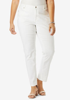 Boyfriend Jean by Denim 24/7®, WHITE DENIM