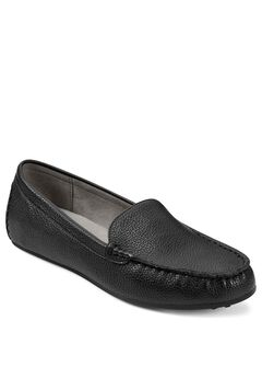 Over Drive Moccasin by Aerosoles®, BLACK LEATHER, hi-res