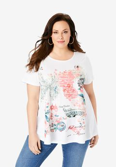 Graphic Travel Tee,