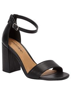 Belle Sandals by Comfortview®, BLACK