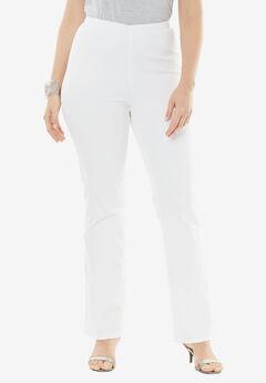 Pull-On Stretch Denim Bootcut Jean by Denim 24/7®,