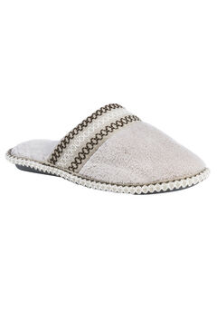 Cathy Closed Toe Slippers by Muk Luks®, CHAMPAGNE