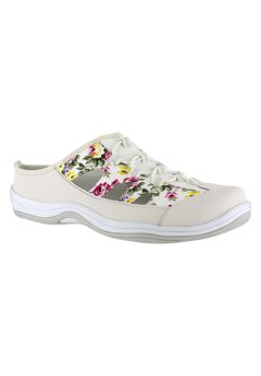 Barbara Slip-On by Easy Street®, WHITE FLOWER