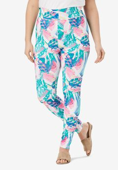 Performance Legging, MULTI TROPICAL ABSTRACT
