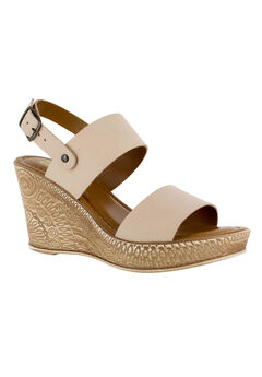 Cor-Italy Sandals by Bella Vita®, NATURAL LEATHER