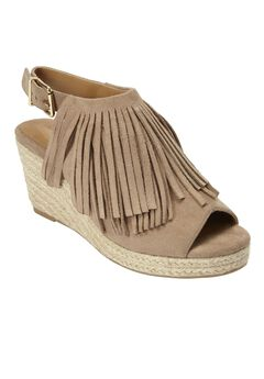 Diane Espadrille Sandals by Comfortview®, KHAKI, hi-res