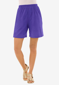 Soft Knit Short, GRAPE