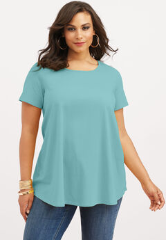 Ultimate Trapeze Tee, AQUA SEA, hi-res