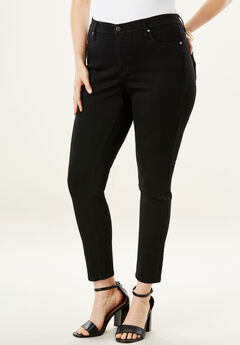 The Sculpt Jean By Denim 24/7®, BLACK DENIM