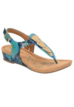 Summit Sandals by Comfortiva®, AQUA, hi-res
