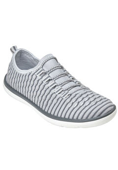 The Ariya Sneaker by Comfortview®, PEARL GREY