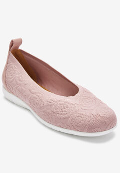 ff3370f94e7c Wide Width Shoes  Flats and Slip-Ons for Women