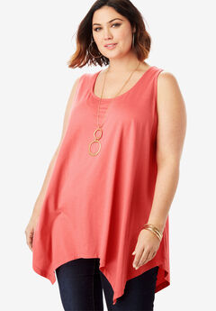 Handkerchief Hem Super Tunic,