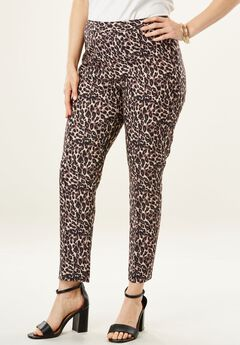 Bend Over® Ankle Pant, LEOPARD PRINT