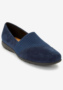 The Gray Flat by Comfortview®, NAVY